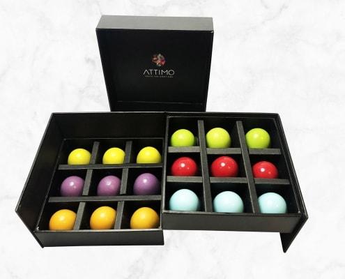 Grand Cru Pralinen im 18er Set | ATTIMO Chocolatier