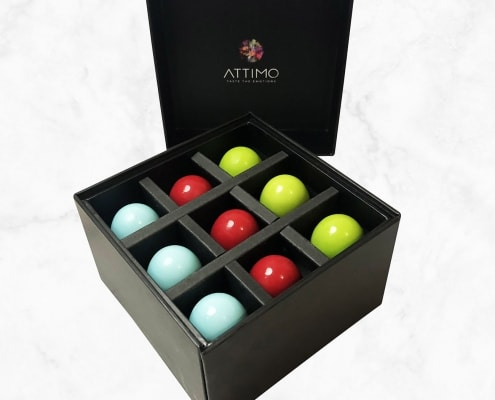 Pralinen Box Set mit 18 Grand Crus | ATTIMO